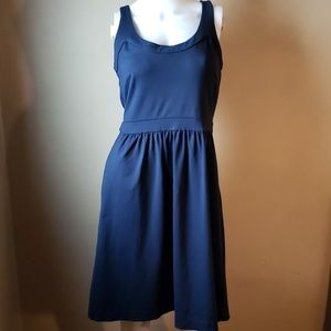 Cynthia Rowley Navy Blue Sleeveless Skater Dress S